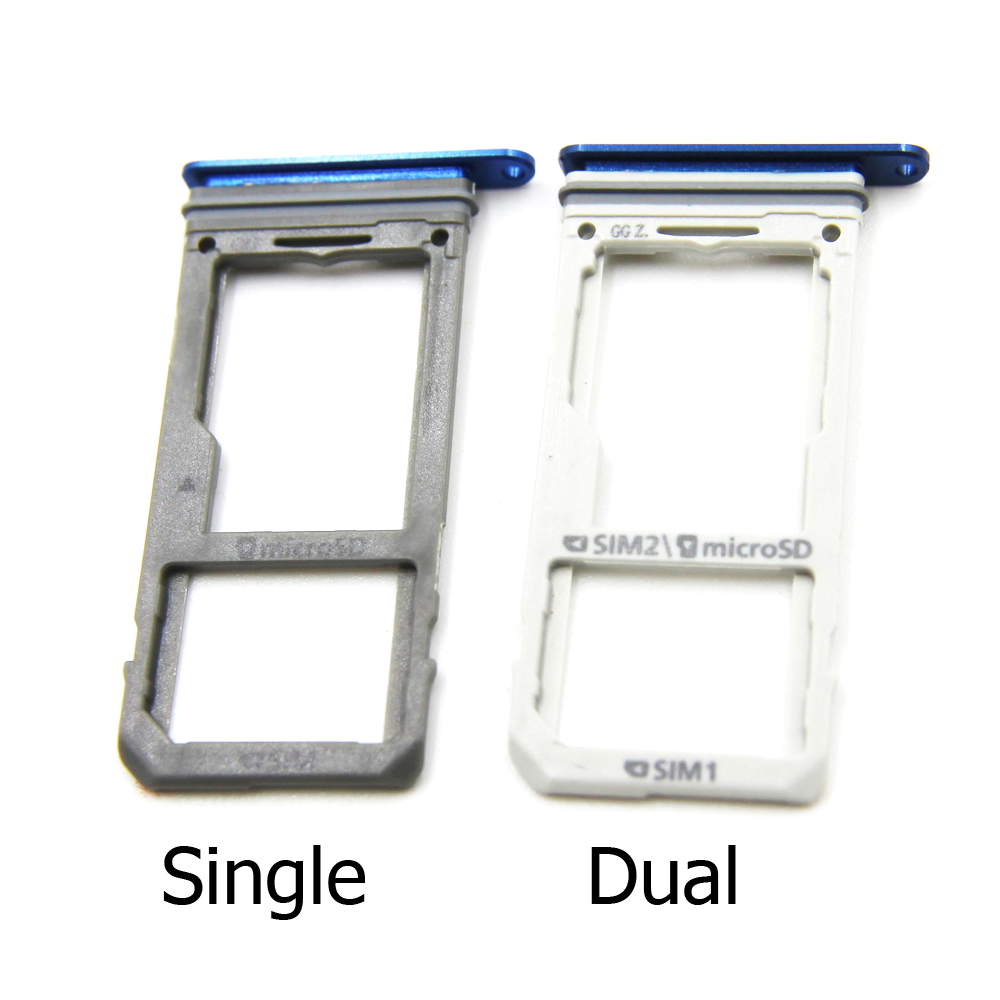 SIM Card Tray For Samsung Galaxy Note 8 SIM Card Reader Sim Tray Holder Sim Slot Replacement Parts Black/Gold/Purple/Blue