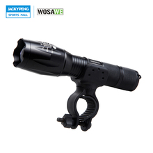 WOSAWE T6 LED Bike Light Waterproof Front Torch Bicycle Cycling Flashlight 1000 Lumens 5 Mode Torch Holder Support 18650 Battery цена