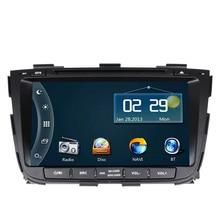 Free Shipping Car DVD Player GPS Navigation for Kia Sorento 2013 2014 with Bluetooth Radio Ipod RDS Steering wheel control