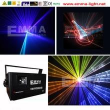 DMX Stage Laser Projector Strobe Lighting Stroboscope Luzes Para Festa Mini DJ Disco Party Light RGB Laser Stage Lights US Plug
