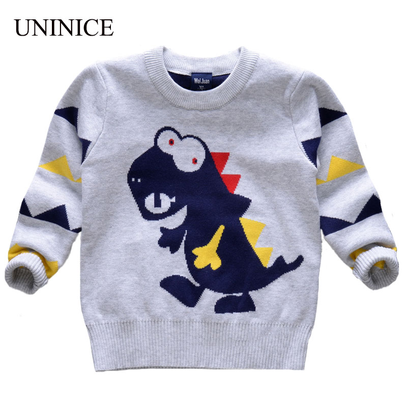 New Boy Winter Autumn Infant Baby Cartoon Sweater Boy Girl Sweater Baby Knitted Sweater Children Outerwear Cardigan Sweater