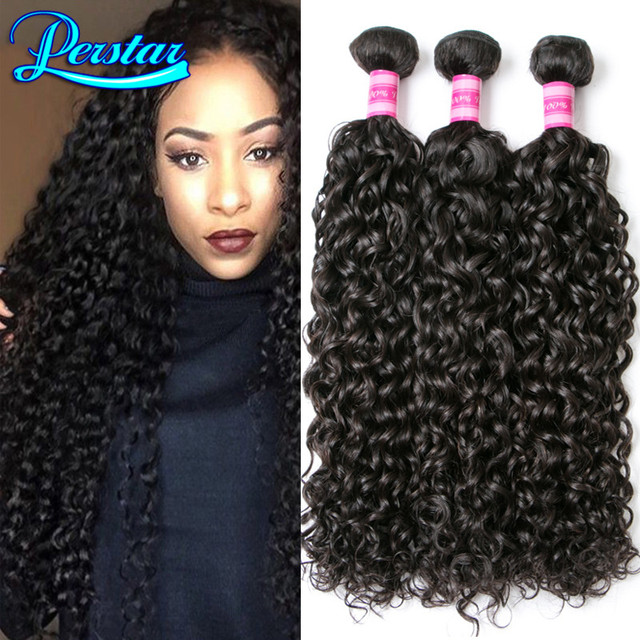 Peruvian Virgin Hair Water Wave Virgin Peruvian Curly Hair Water Wave Peruvian Hair Bundles 4 Bundles Curly Weave Human Hair