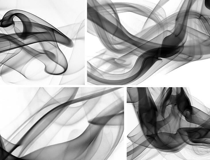 Niestandardowe 3D fototapety Dymu chmury streszczenie artystyczny fototapeta tapeta nowoczesna minimalistyczna sypialnia sofa TV obraz papier 16