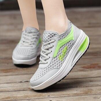 317c3a8a Tenis Feminino 2018 mujeres luz suave gimnasio deporte Zapatos mujeres  zapatos Tenis femenino estabilidad atlética marca zapatillas deportivas  barato