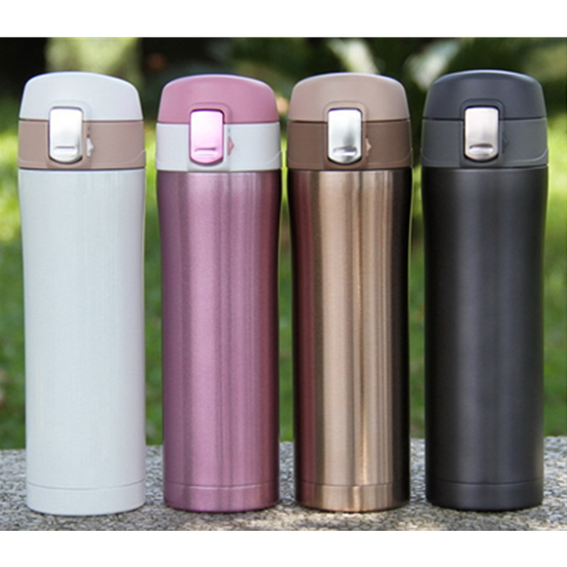 home kitchen vacuum flasks thermoses 420ml stainless steel insulated thermos cup coffee mug travel - Coffee Travel Mugs