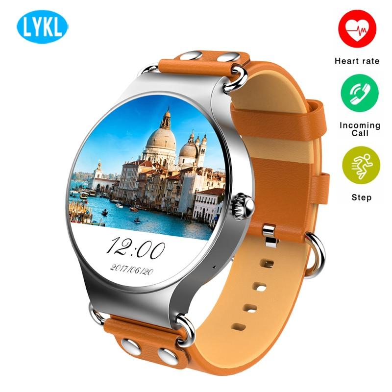 KW98 montre intelligente Android 5.1 3G WIFI GPS montre Smartwatch moniteur de fréquence cardiaque podomètre pour Xiaomi PK KW88 KW99 vie étanche