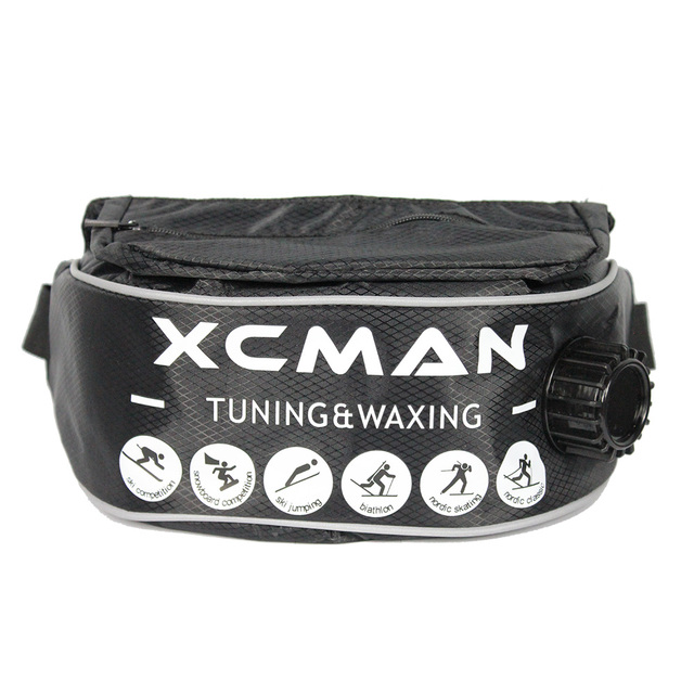 XCMAN XCMAN Insulated XC Drink Belt Bottle With Pocket for Boiling Liquids Heavy Duty Thermo 1Liter