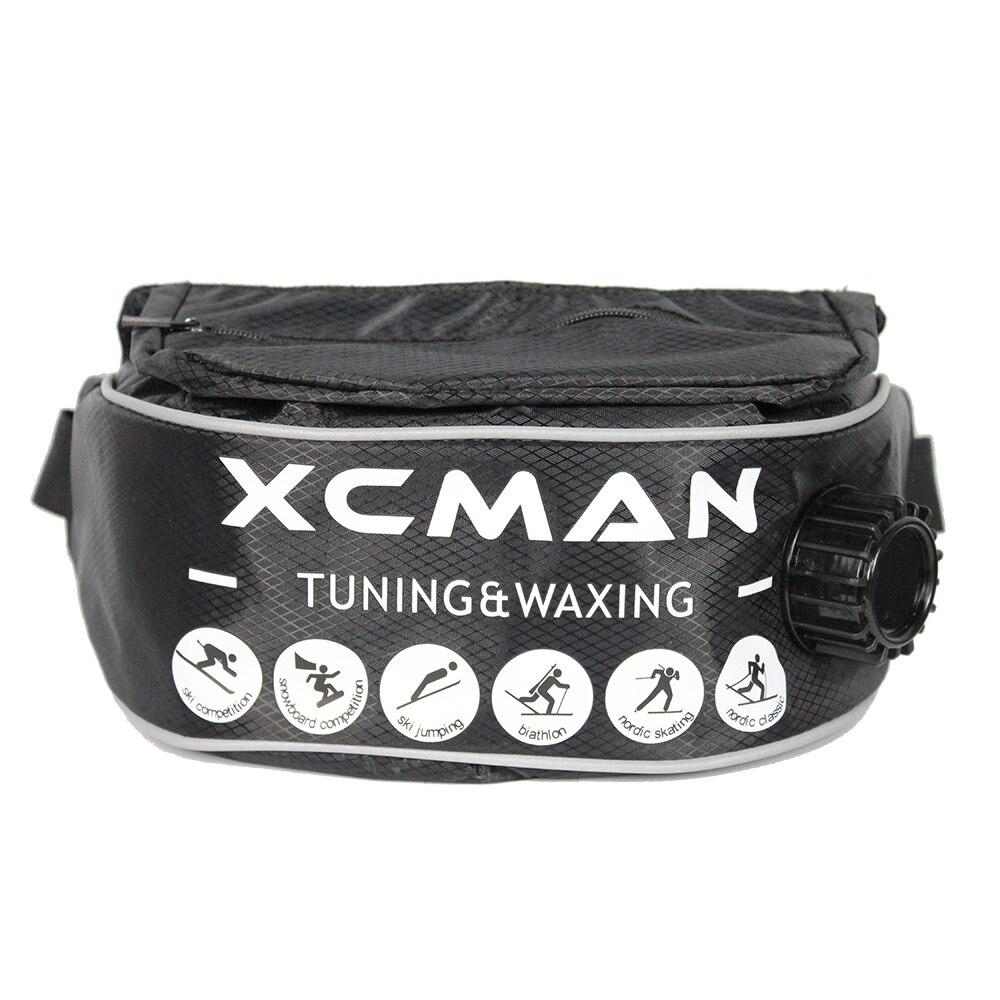 Xcman aislado XC bebida botella cinturón con bolsillo para hervir líquidos pesados termo 1 litros