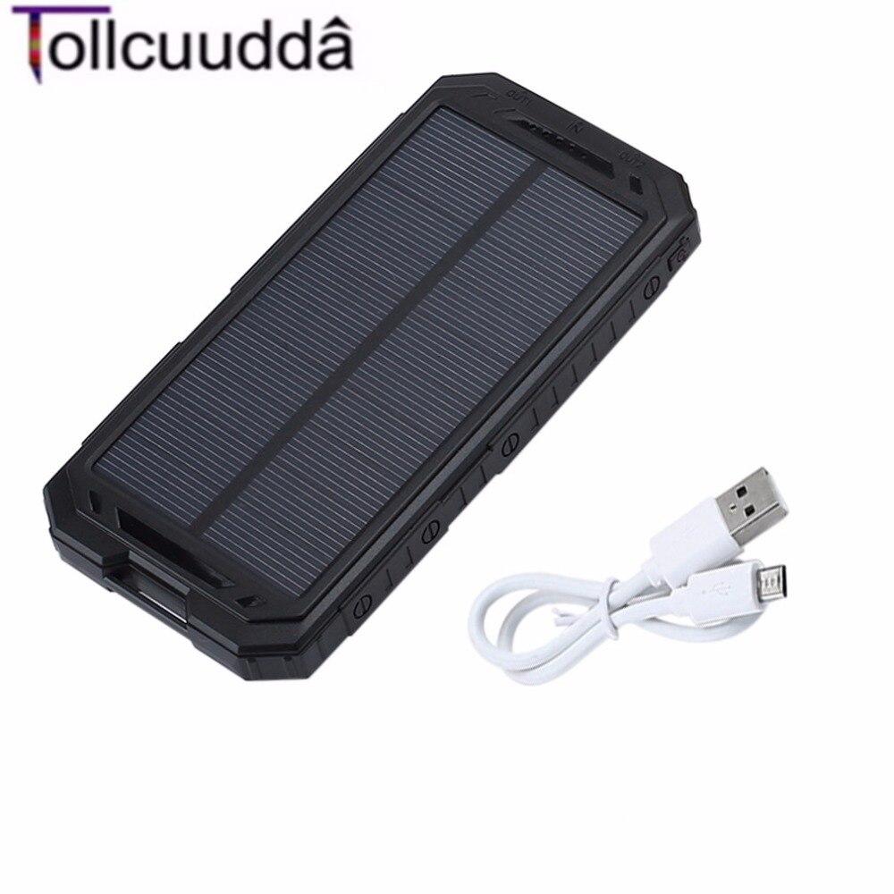 10000 mAh Tollcuudda LHSJ01 Ultra Light Power Bank Batería Externa Portátil de D