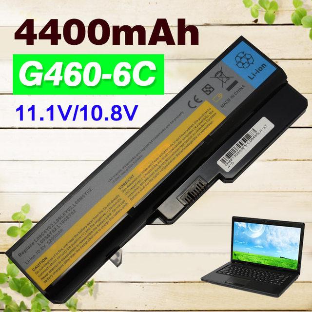 4400 mah batería para lenovo ideapad g560 v360 v370 v470 b470 g460 lo9s6y02 g560 z460 z465 z560 z565 lo9s6y02 lo9l6y02 l10p6y22