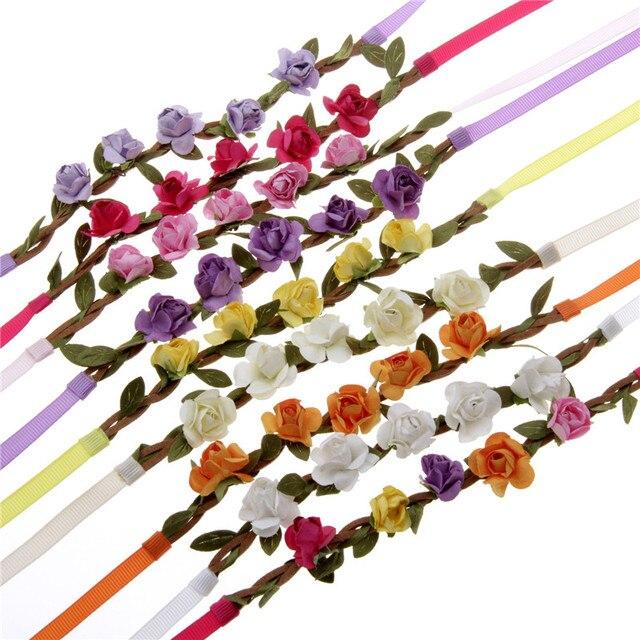 Mode Manner Frauen Leder Hochzeit Blumen Armband Uberzug Gold Silber
