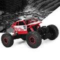 Оригинальный RC Автомобилей 4WD 2.4 ГГц Rock Crawlers Митинг восхождения Автомобиль 4x4 Двойные Двигатели Bigfoot Автомобиль Дистанционного Управления модель Внедорожника