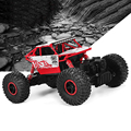 Original Do Carro Do RC 4WD 2.4 GHz Rastreadores de Rock escalada Carro de Rali 4x4 Motores Dobro Bigfoot Carro de Controle Remoto modelo do Veículo Off-Road