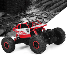 Rastreadores de Rock RC 4WD Coche 2.4 GHz Original de escalada de Coches de Rally 4×4 Motores Dobles Bigfoot Coche de Control Remoto modelo de Vehículo Off-Road
