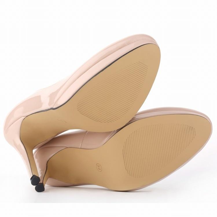 En Verni Pompes Cuir Talon Pointu Stiletto Femme As Bout forme Haut 2019 Picture Bonbons Étanche Plate as Classique Femmes Chaussures Picture De EvxfIx0qn