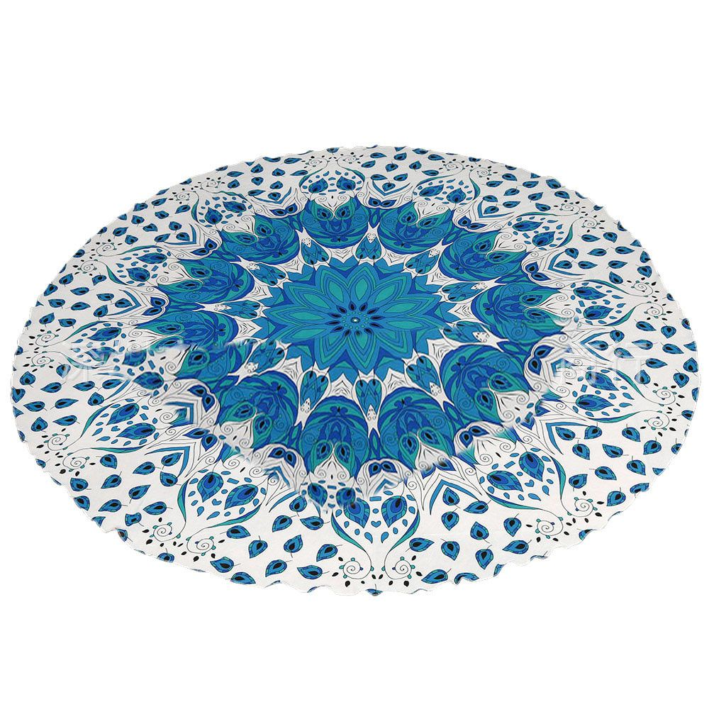 Printing Polyester Tapestry Wall Hanging Bikini Beach Swimming pools Bath Towel Cover Up Table Cloth Mat