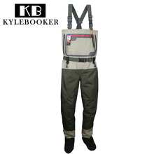 Fly Fishing chest waders Durable and Waterproof Breathable Stocking foot Hunting wading pants for Men and Women все цены