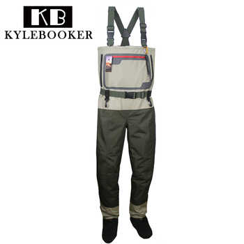 Fly Fishing chest waders Durable and Waterproof Breathable Stocking foot Hunting wading pants for Men and Women - DISCOUNT ITEM  41% OFF All Category
