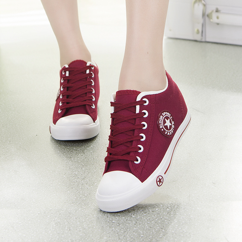 JUNSRM  Shoes White Denim Sneakers Basket Femme Casual Shoes Tenis Feminino High Top Flat Shoes Trainers Women Zapatos Mujer
