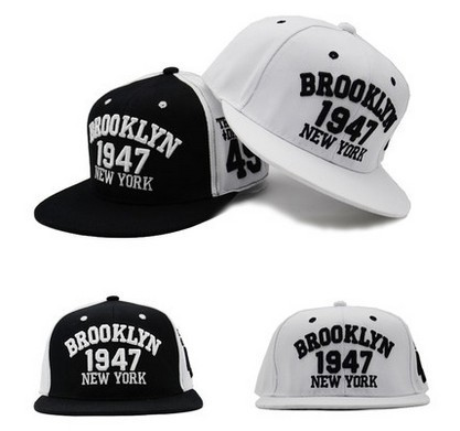Gorras Snapback Hat 1947 Brooklyn Embroidery Strapback Cap Casquette