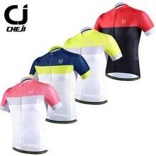 CheJi 2017 Pro Ciclo Jersey Para Hombre Camisetas de Bicicleta de Carretera Racing Ropa Ciclismo Bolsillos BreathableQuickDry Personalizada Jersey de Ciclismo