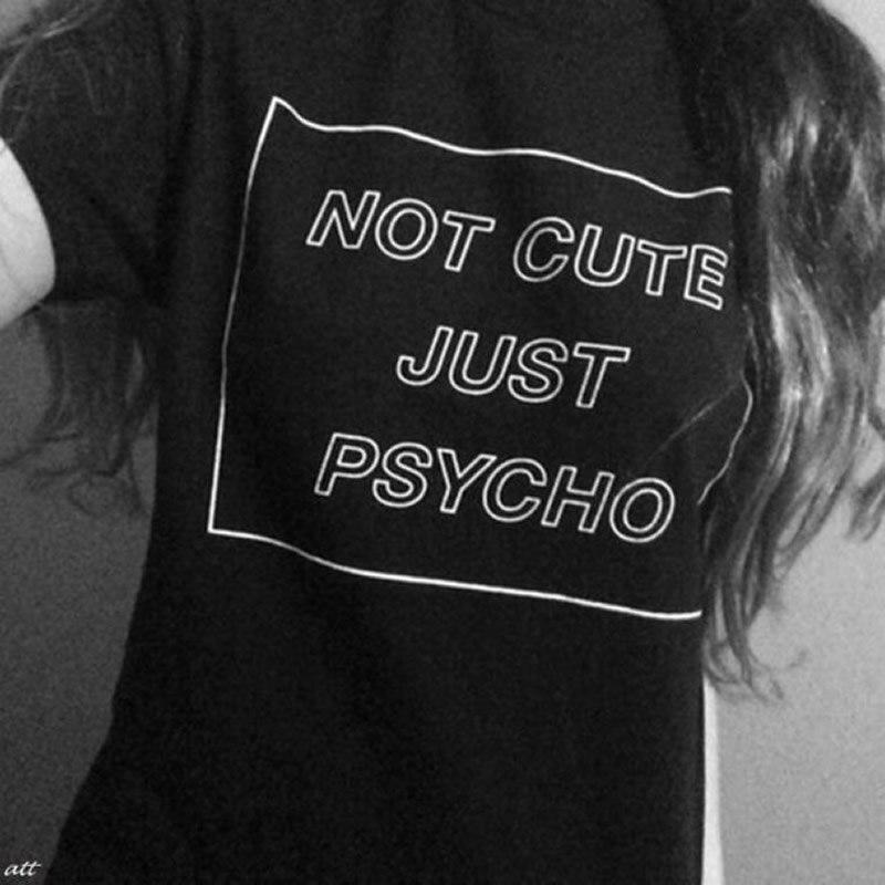 っ2018 Nueva Moda Famale Camiseta No Solo Tumblr Pareja Ropa