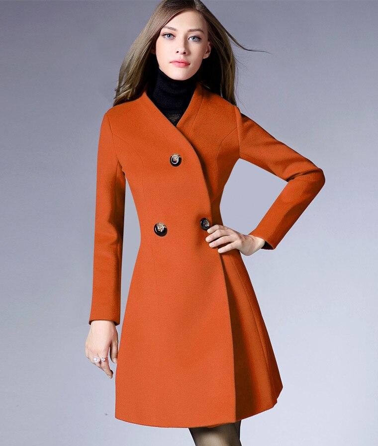 Online Buy Wholesale women 3colors wool coat from China women ...