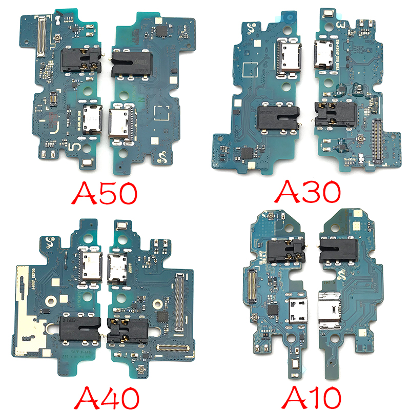 For Samsung Galaxy A10 A20 A30 A40 A50 A60 A70 A80 A202F A205 A305F A605F A705F A805 USB Charging Connector Port Dock Flex Cable