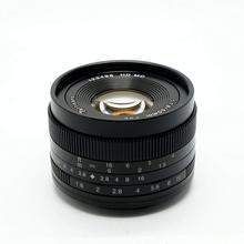 7 ремесленников 50 мм f1.8 большой апертурой портрет ручная фокусировка микро набор объективов для камеры Canon eos-m Mount E- крепление Fuji FX-сумма