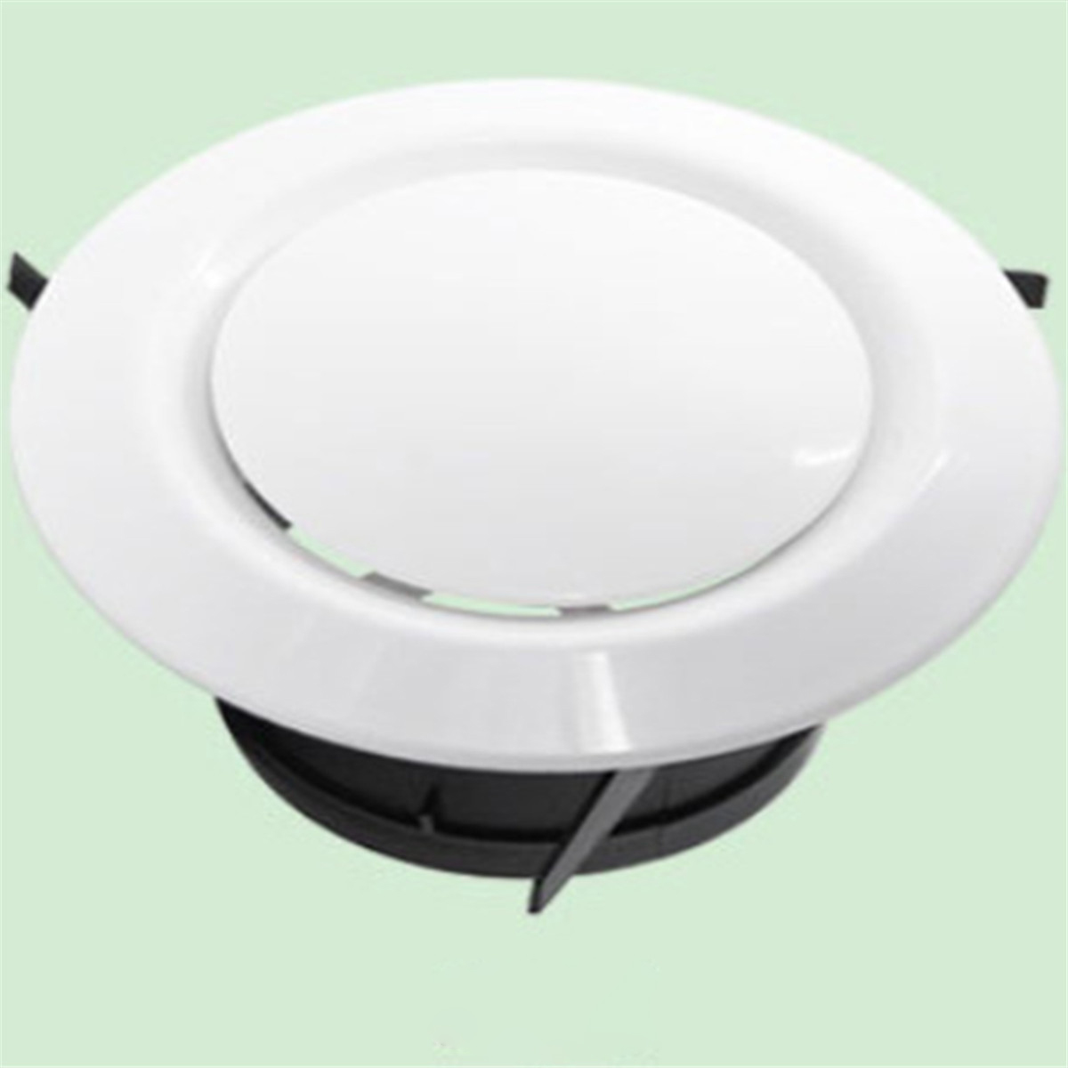 Mounting Dia Adjustable Disc Ventilation Circle Air Vent Grille Cover For RV Caravan Camping Car 100MM