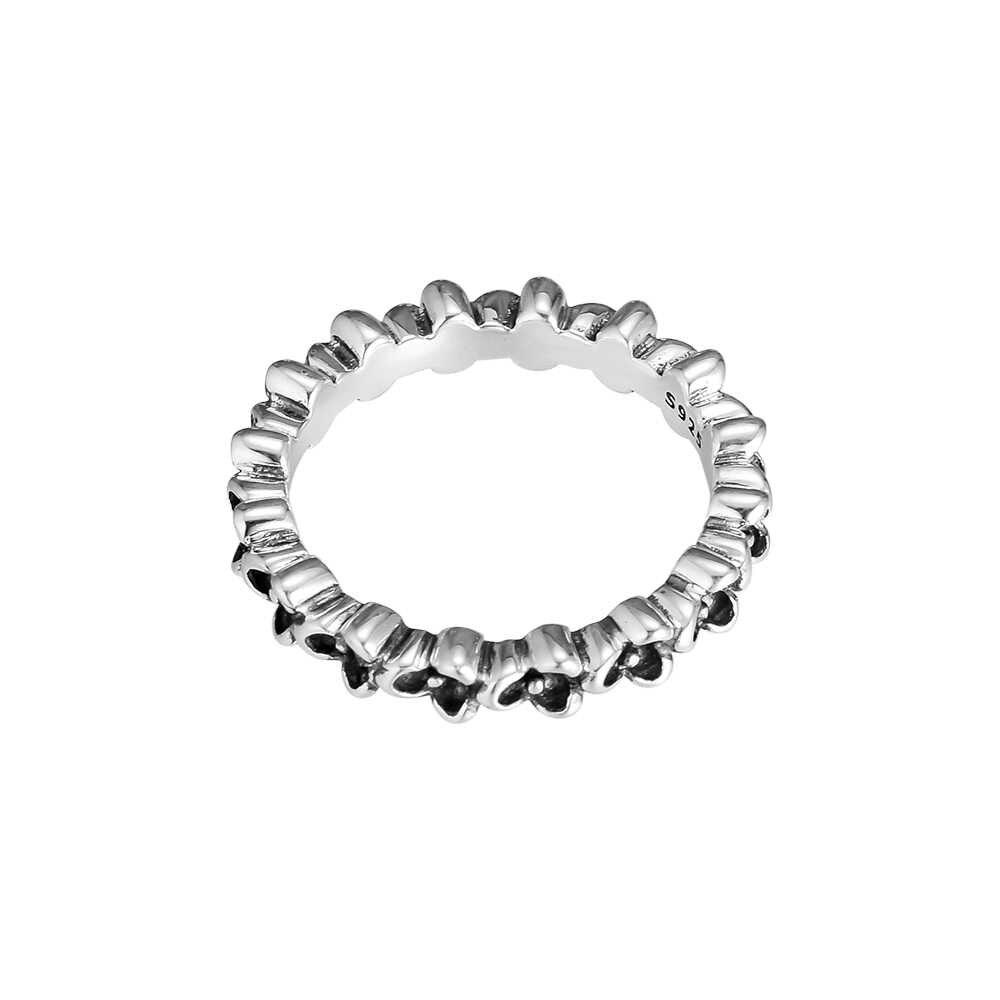 925 แหวนเงินแท้ Cubic Zirconia สำหรับเครื่องประดับ DIY ทำผู้หญิงงานแต่งงานของขวัญ