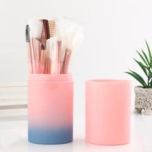 MECOLOR pink 12pcs Makeup Brushes Set kits Professnial Beauty Fondation blush eyeshadow lip eyebrow  powder brush tools