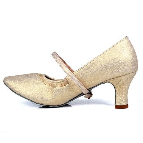 New arrival Brand Modern Dance Shoes Women Girls Dancing Shoes High Heeled Ballroom Latin Dance Shoes For Women 5CM and 7CM Heel Karachi