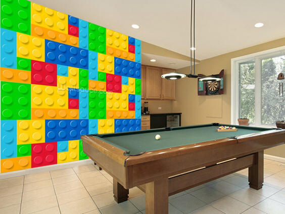 Lego Wallpaper For Bedroom