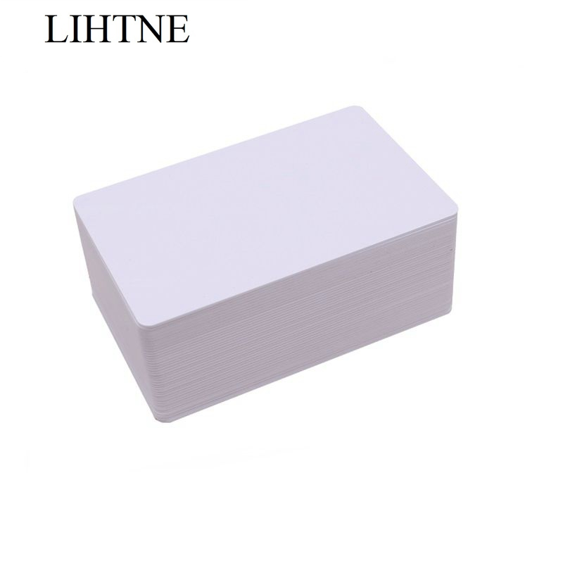 100PCS/lot 13.56MHz ISO15693 ICODE2 1K Blank PVC RFID IC Cards winfeng 2000pcs lot cmyk color pvc snap off keychain combo cards plastic die cut combo cards with barcode