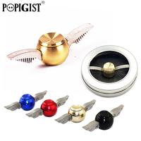 NEW Spinners Golden Snitch Harry Potter Fans Fidget Gyro Metal Alloy Finger Spinner Hand Anti Stress