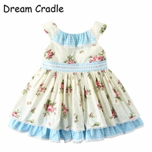 Dream Cradle , Vintage Baby Dress ,Spanish Girls Dress, Floral ,Heirloom Girl Outfit
