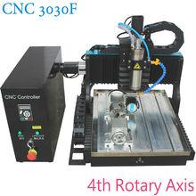 JFT Hot sales ce supported water tank 3030 axis cnc machine router 800W with 4th Rotary