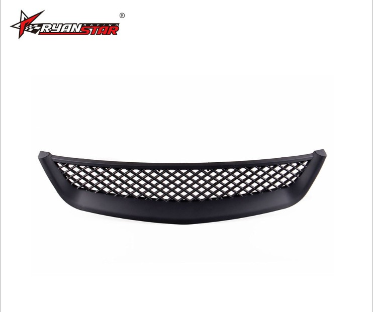 For 1999 2000 Honda Civic JDM Type R Black Mesh ABS Front Hood Grille Grill in Accessories from Automobiles Motorcycles
