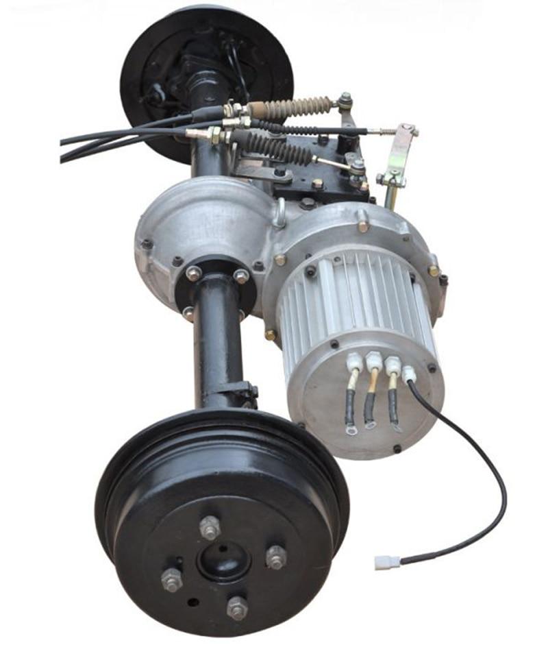 para a bicicleta do triciclo motor diferencial bonde 48 v-72 v 350 w-2200 w
