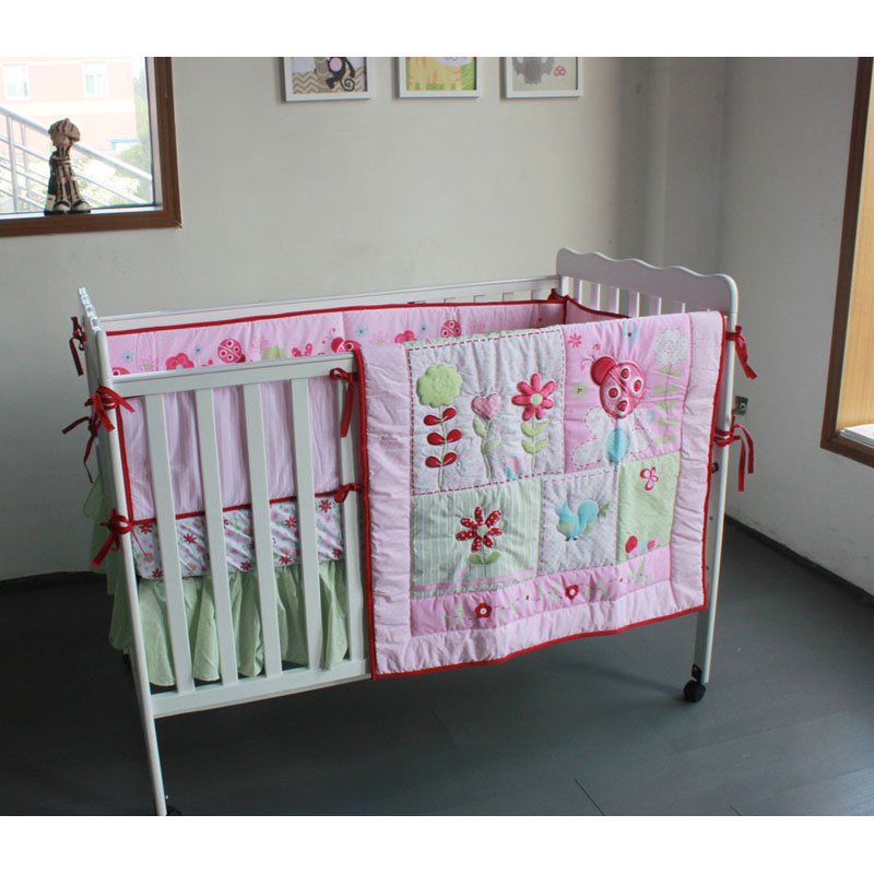 3 Pieces Lovely Baby Crib Bedding Set Cute Animal Lion Deer Tree Baby Bedding Set Cot Sheets Cuna Bumper Ropa De Cuna Kit Berco Be Novel In Design Baby Bedding