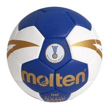 Handball dorigine fondu H3X5001 nouvelle marque de haute qualité véritable matériel en polyuréthane fondu taille officielle 3 handball pour tournoi
