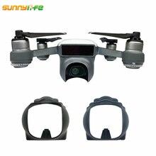 Sunnylife Spark DJI Spark Sun Hood Lens Cap Sunshade Camera Gimbal Lens Cover Prop Protector Accessories for DJI Spark Drone