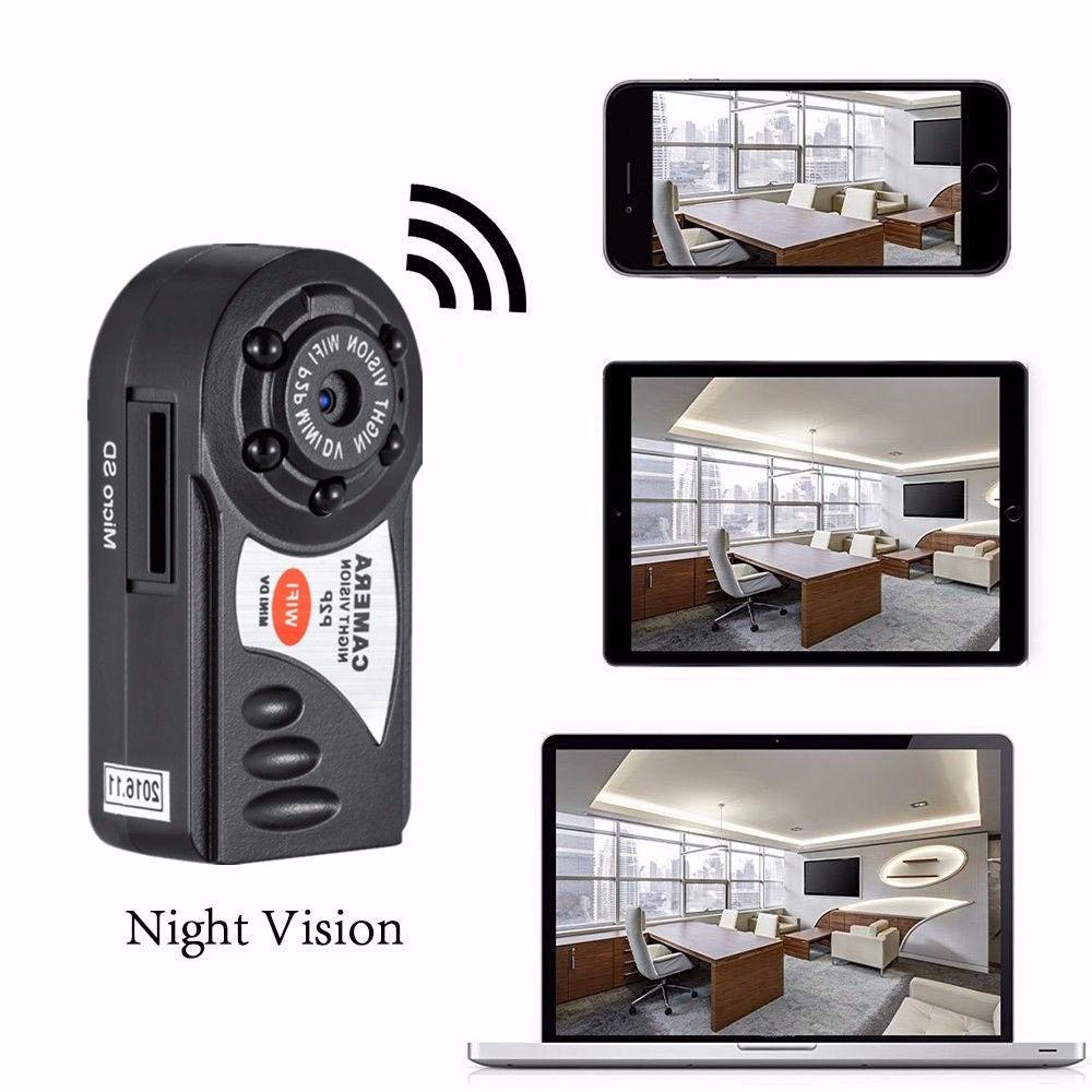 Q7 Wireless WIFI Camera Mini P2P DV Video Recorder DVR Night Vision