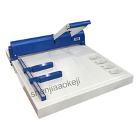 Papel Máquina de plegado 340 manual papel creaser multifunción indentación dashing machine 340mm ancho de indentación|Máquina de encuadernación| |  -