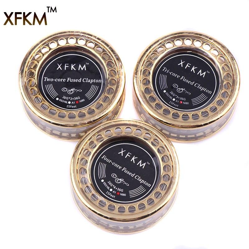 XFKM NEUE Clapton Alien NI80 Heizdrähte 5 Mt/Rolle Hohe Qualität ...