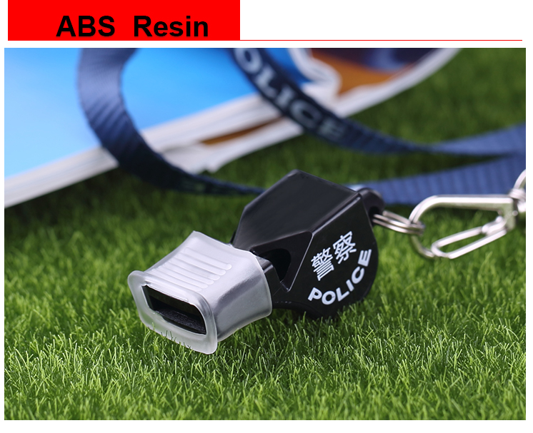 High Quality Any LOGO Customized Police F4 Molde Whistle With Lanyard Outdoor Survival Whistle Wholesale