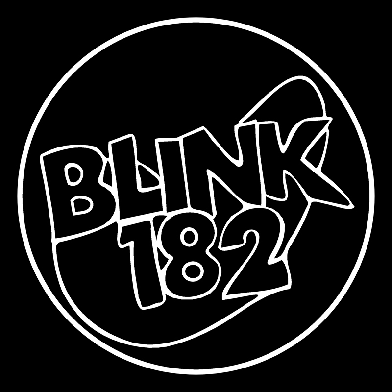 Blink 182 Black Bands Automotive Decal//Bumper Sticker