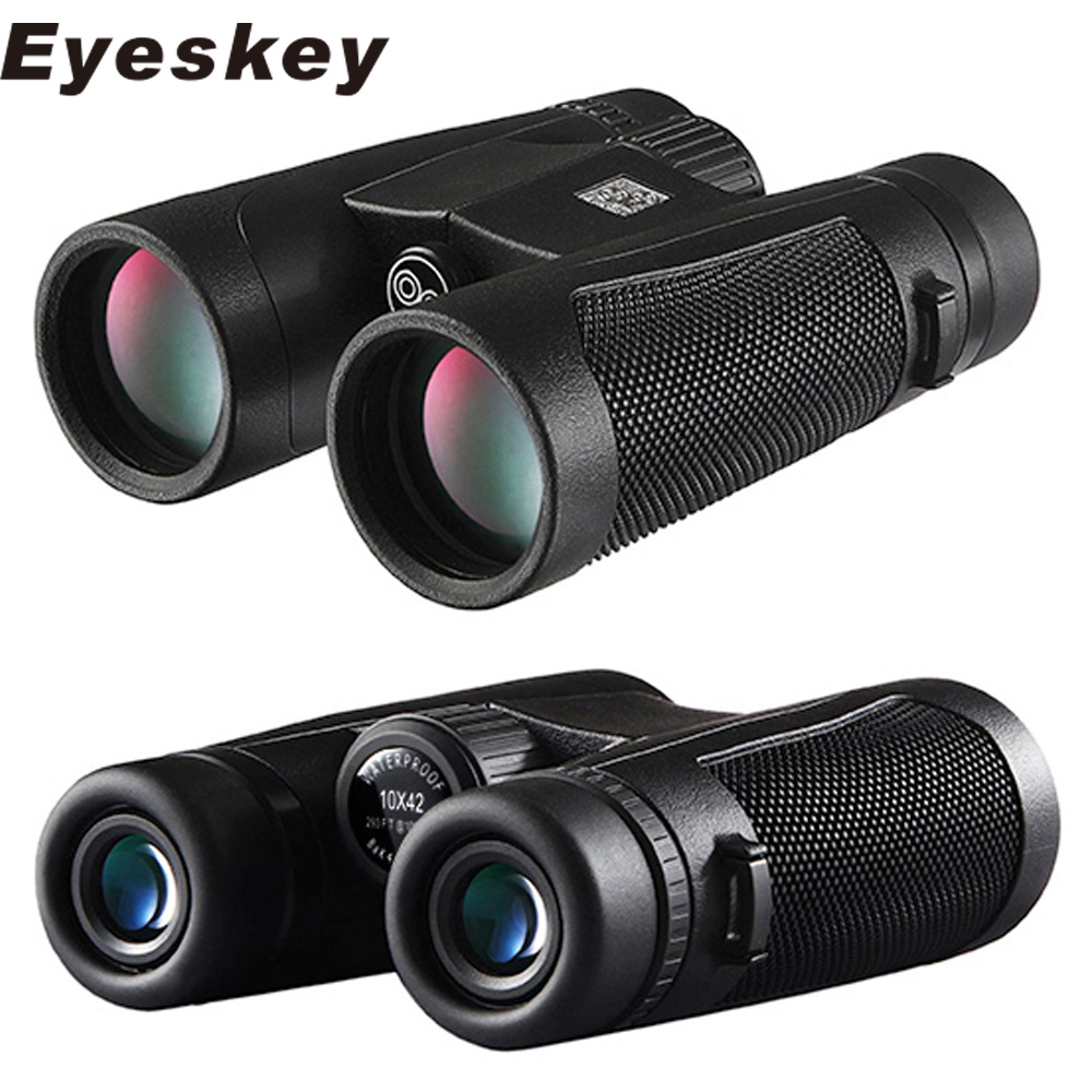 Eyeskey HD Mini BAK4 FMC Optics Portable 8x42/10x42/10x50 Zoom Monocular Binocular Telescope for Hunting Outdoor Trip Concert 2017 new arrival all optical hd waterproof fmc film monocular telescope 10x42 binoculars for outdoor travel hunting