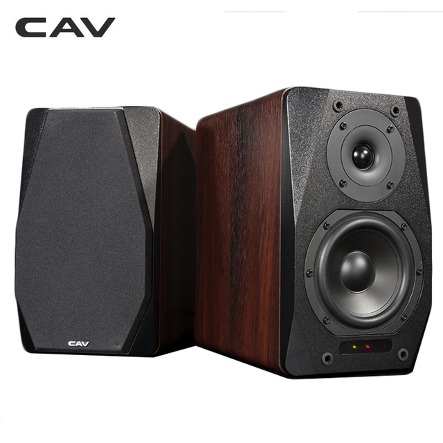 CAV Newest FD 20 Bluetooth Bookshelf Speaker System 525 Inch 2pcs